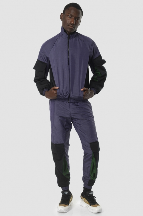 COTTWEILER Utility Purple Trackjacket 4