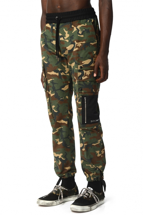 PALM ANGELS Camo Trousers  0