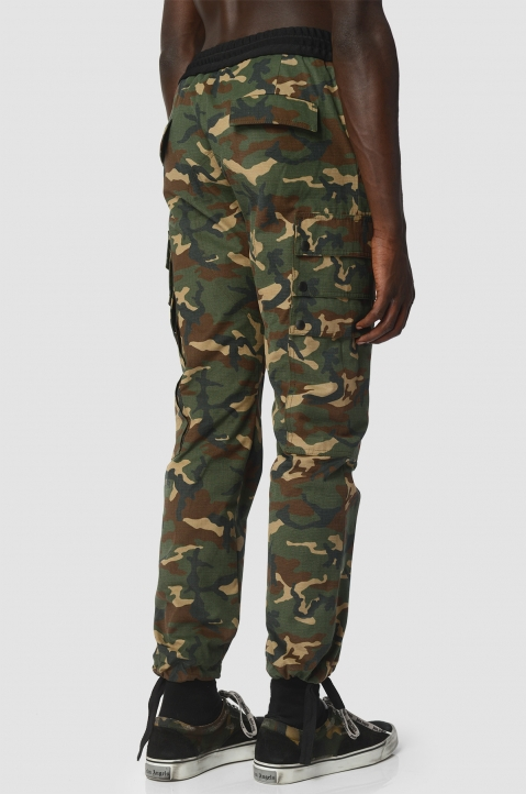 PALM ANGELS Camo Trousers  2