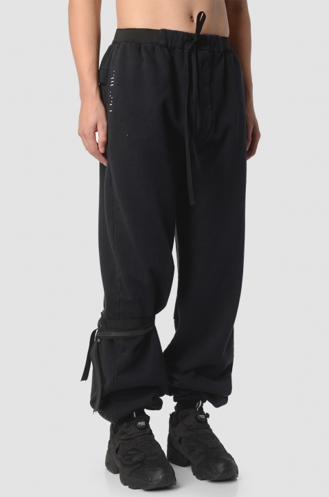 UNRAVEL PROJECT Black Joggers  1