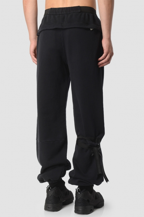 UNRAVEL PROJECT Black Joggers  2