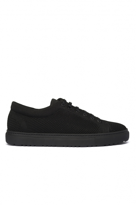 ETQ Carbon Black Low 1 Knit Sneakers 0