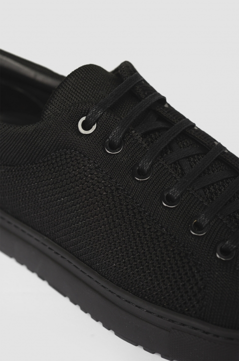 ETQ Carbon Black Low 1 Knit Sneakers 2