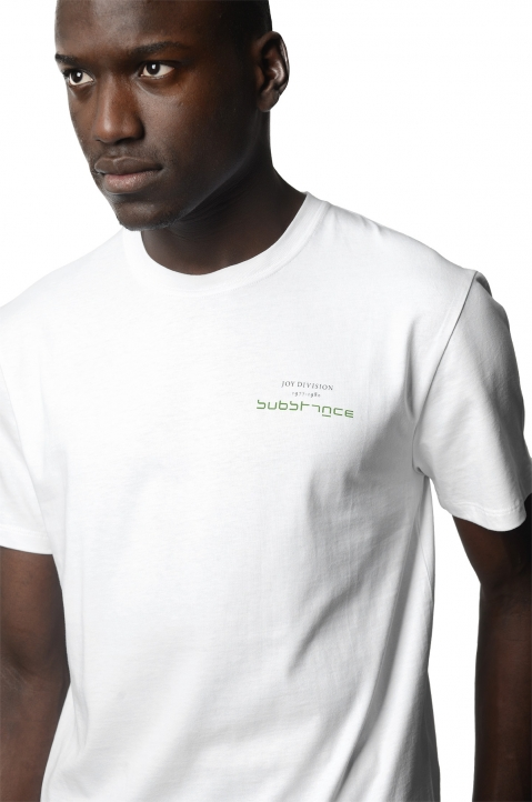 RAF SIMONS Substance White T-Shirt 0