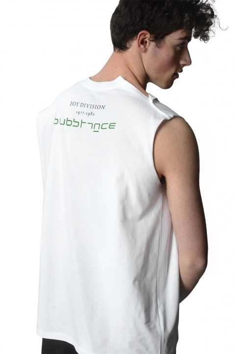 RAF SIMONS Sleeveless Joy Divison Top 0