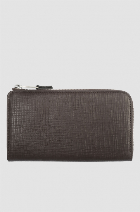 MAISON MARGIELA Brown Long Wallet 1