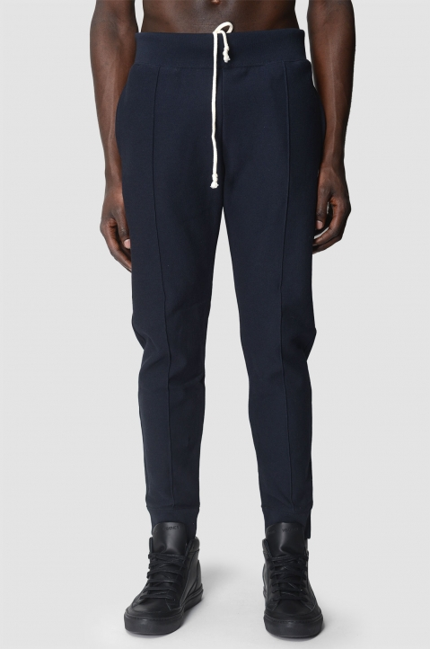 CHAMPION Navy Pleated Joggers 1