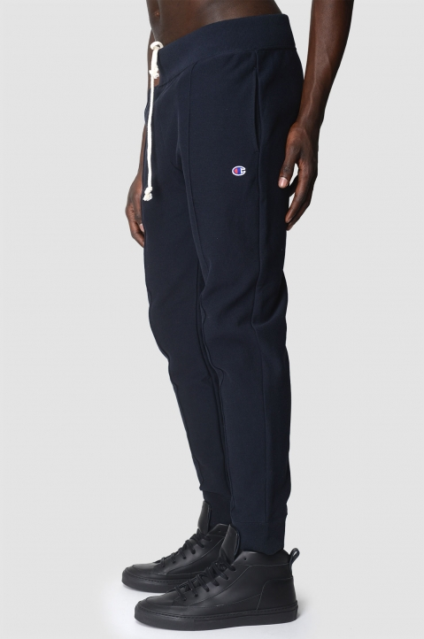 CHAMPION Navy Pleated Joggers 3