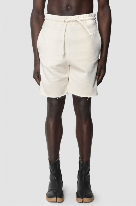 MAISON MARGIELA Descontructed White Shorts 1