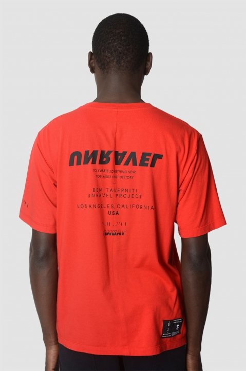 UNRAVEL PROJECT Tour Red T-Shirt 2