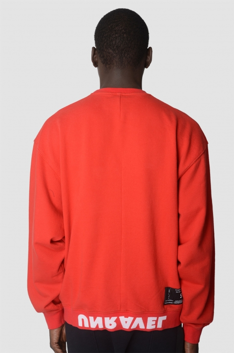 UNRAVEL PROJECT Explicit Red Sweatshirt 2