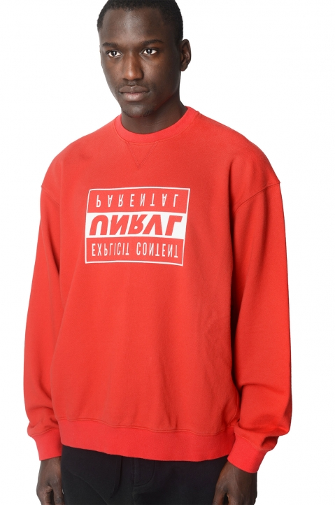UNRAVEL PROJECT Explicit Red Sweatshirt 0