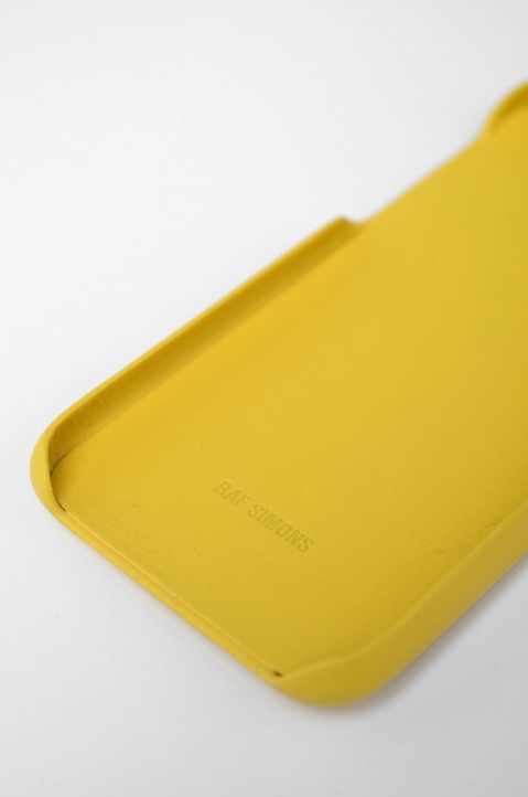 RAF SIMONS Yellow Drugs iPhone Cover 2