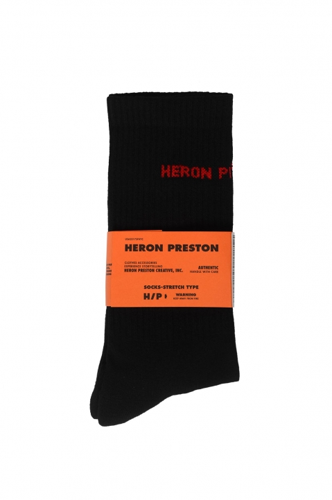 HERON PRESTON Black Socks 0