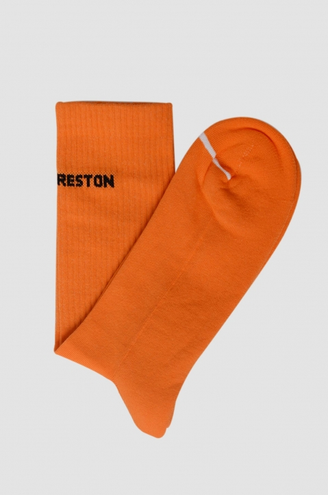 HERON PRESTON Orange Socks 1