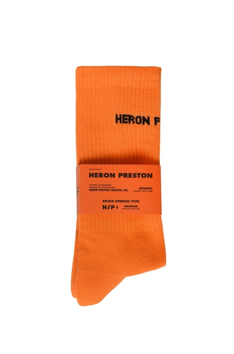 HERON PRESTON Orange Socks 0