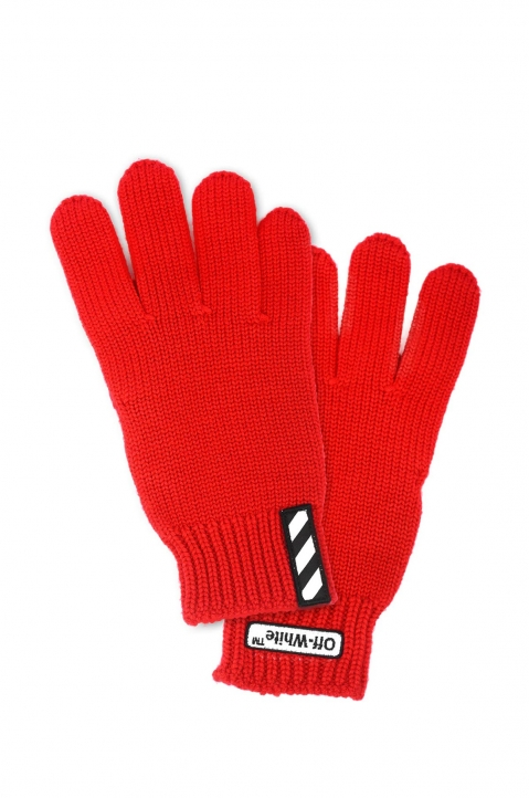 OFF-WHITE Patch Gloves 0