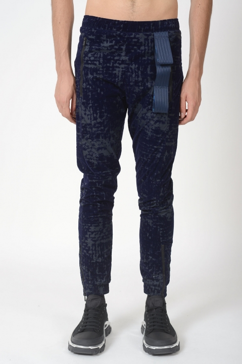 COTTWEILER Flock Industrial Strap Trakpants 1
