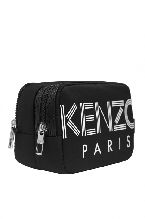 KENZO Black Toiletry Bag 1