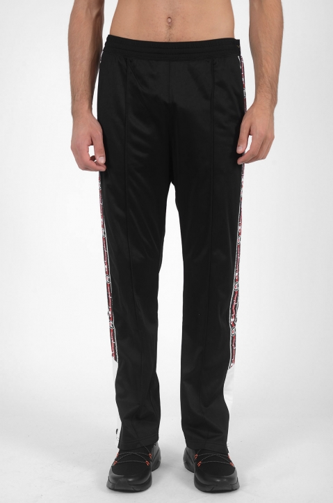 CHAMPION Snap Black Trackpants 1