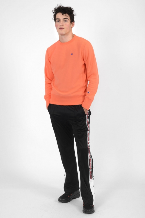 CHAMPION Snap Black Trackpants 4