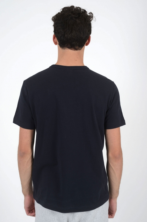 CHAMPION Logo Navy Blue T-Shirt 2
