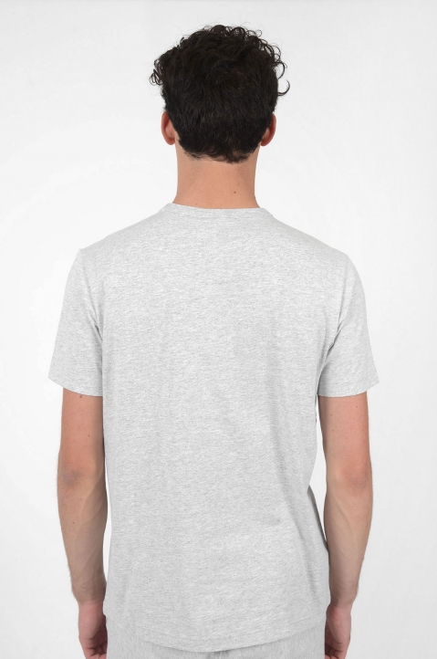 CHAMPION Logo Grey T-Shirt 2