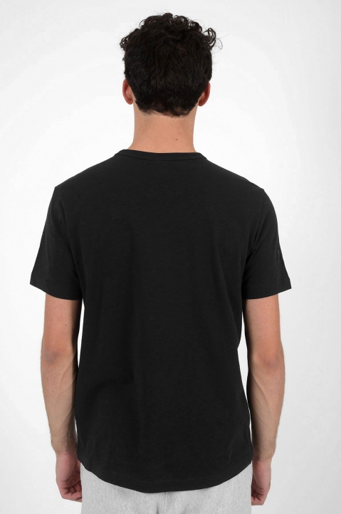CHAMPION Logo Black T-Shirt 2