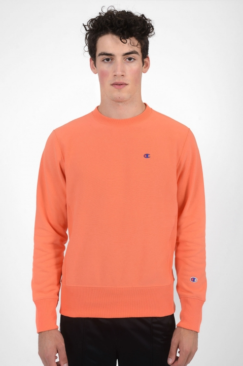 CHAMPION Small Logo Salmon Sweatshirt 1