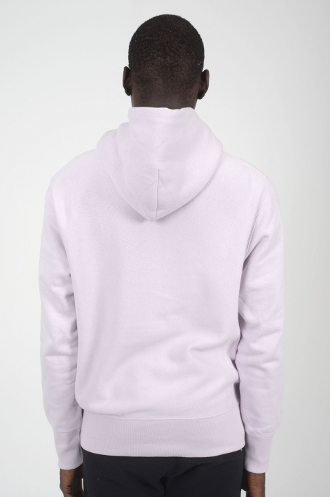 CHAMPION Light Purple Logo Hoodie 2