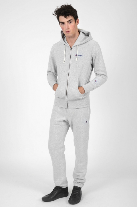 CHAMPION Logo Grey Joggers 3