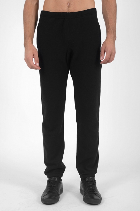 CHAMPION Logo Black Joggers 1