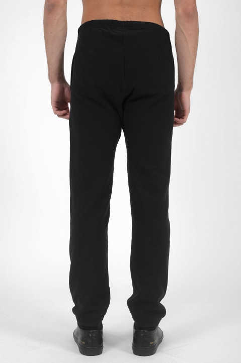 CHAMPION Logo Black Joggers 2