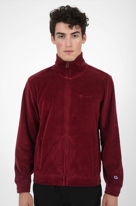 CHAMPION Velour Burgundy Jacket 1