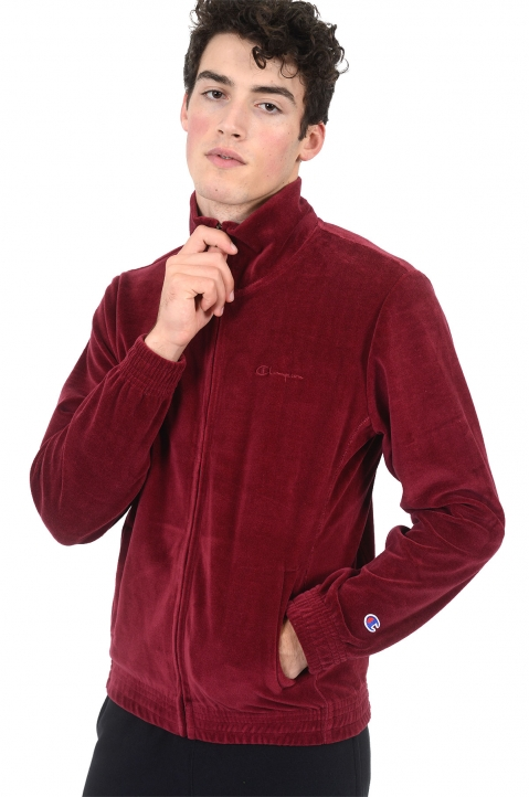 CHAMPION Velour Burgundy Jacket 0
