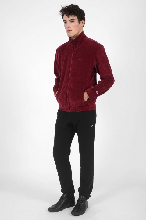 CHAMPION Velour Burgundy Jacket 3