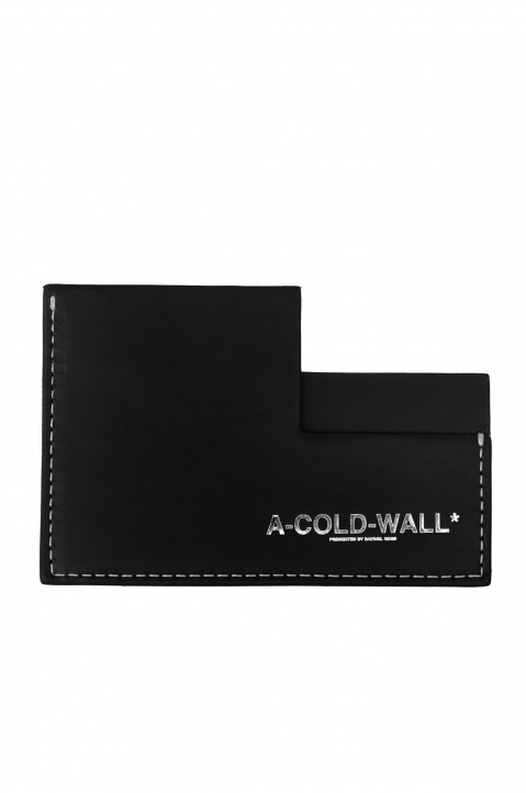 A-COLD-WALL Black Angle Card Holder 0