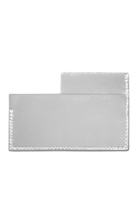 A-COLD-WALL Silver Angle Card Holder 1