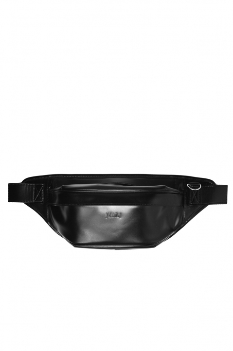 JUUN.J Black Leather Waist Bag 0