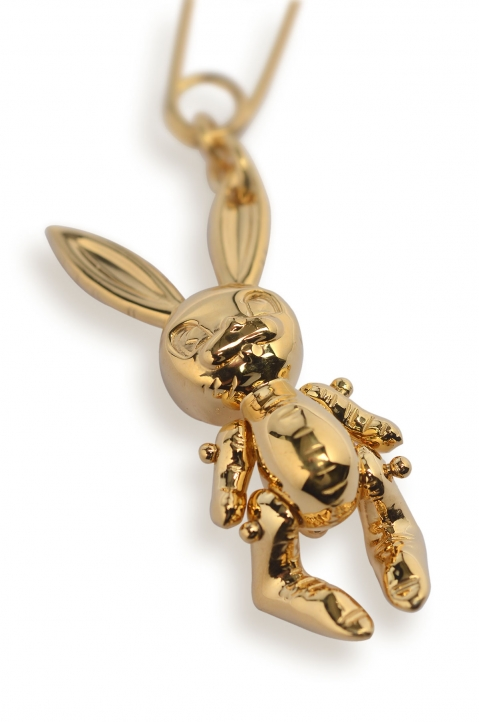 AMBUSH Gold Inflatable Bunny Earring 1