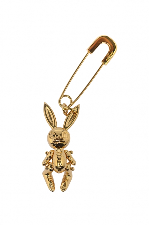 AMBUSH Gold Inflatable Bunny Earring 0