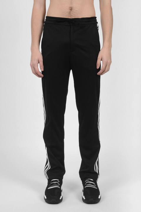 Y-3 3 Stripes Black Trackpants 1
