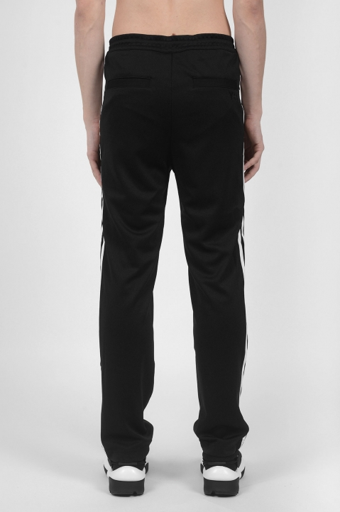 Y-3 3 Stripes Black Trackpants 3