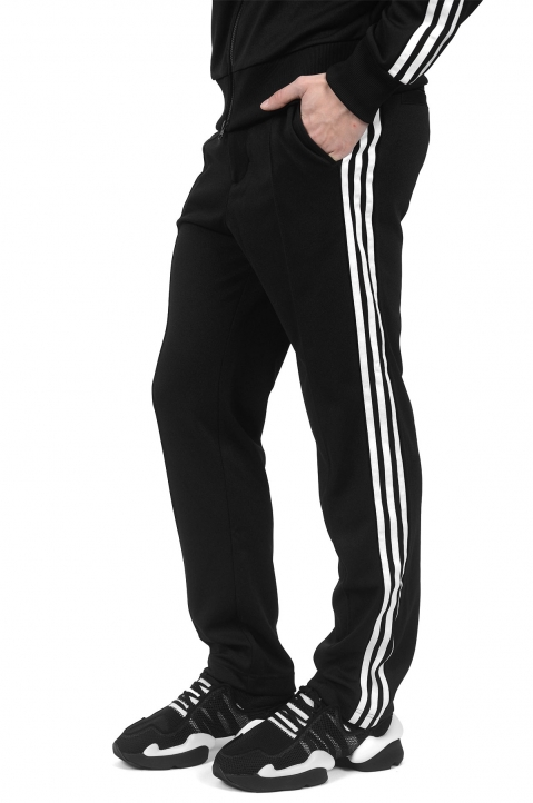 Y-3 3 Stripes Black Trackpants 0