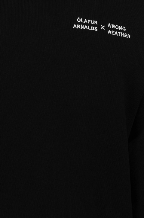ÓA X WW Re:member Black Sweatshirt 3