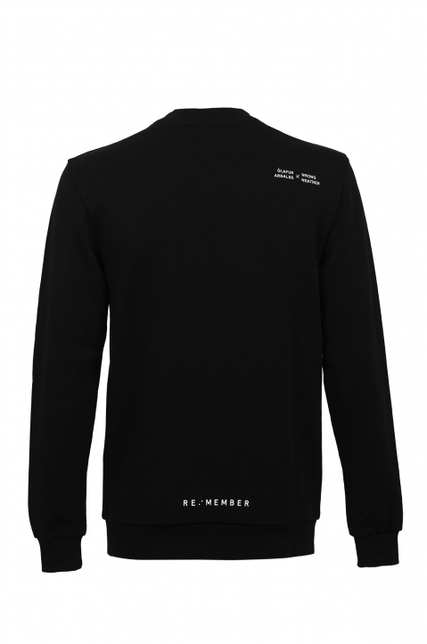ÓA X WW Re:member Black Sweatshirt 1