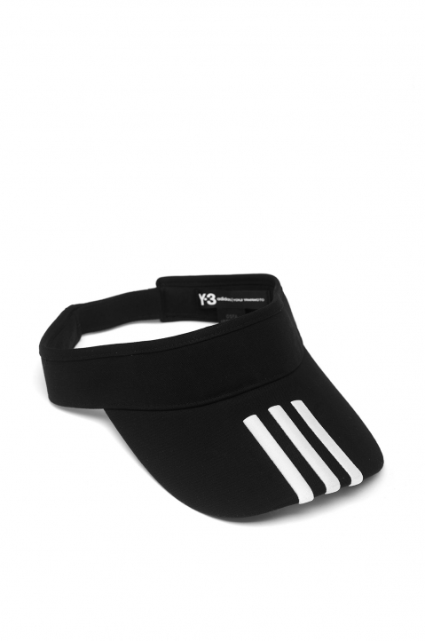 Y-3 Black XL Visor 0
