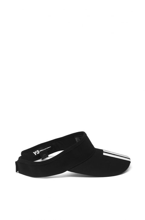 Y-3 Black XL Visor 1