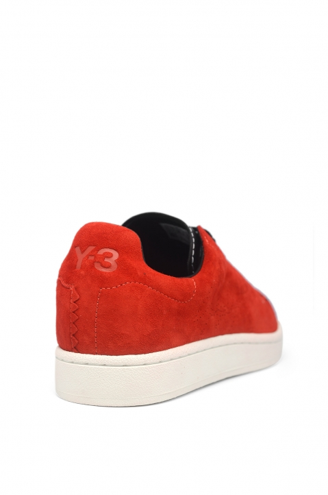 Y-3 Yohji Court Red Sneakers 2