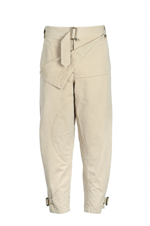 J.W.ANDERSON Front Fold Army Trousers 0